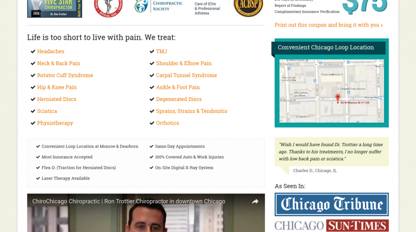Chirochicago - Chicago Web Management
