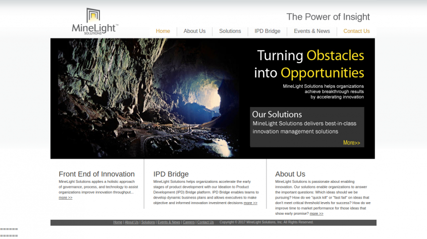 Minelight Solutions - Web Design and Development