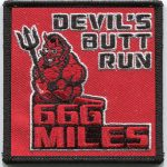 Devil's Butt Run Patch 3""